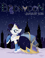BroNYCon January 2012 Poster by midori-no-ink