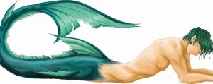 Merman unfinished by Faerytale-Wings