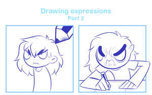 Drawing expressions Part 2 by SmokyJack