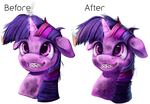 Before and After by Tsitra360