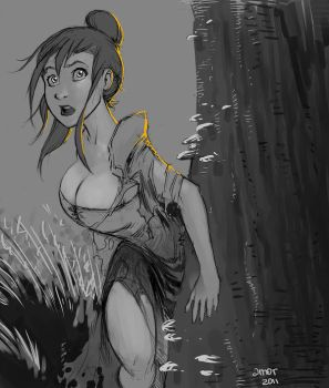 Jane of the Jungle by beastboyjoe