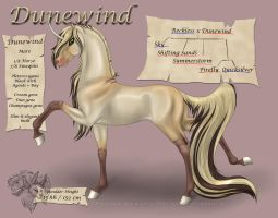 Dunewind - Leadmare by FlareAndIcicle