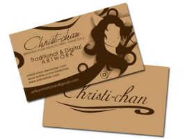 Christi-chan Business Cards by christi-chan