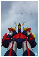 Giants - Raideen by DanielMead