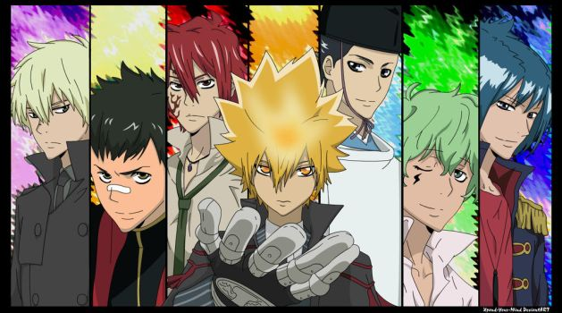 KHR - Vongola Primo Family by Xpand-Your-Mind
