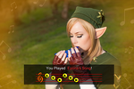 Lady Link - You played Epona's Song. by Samii-Doll