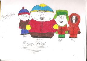 The Boys of South Park by AaronMon97