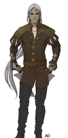 baron Rivendare charsheet (colored) by scourge-minion