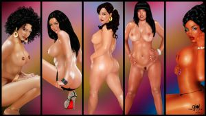Searching for Perfection Walpaper 10 Nude by giolove1