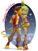Happy Holidays 2012 by KelleeArt