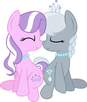 Diamond Tiara and Silver Spoon by MacTavish1996 by MacTavish1996