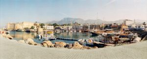 Harbour of Kyrenia by datacan