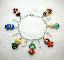South Park Charm Bracelet 2 by stevoluvmunchkin