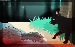 Bloodflood. (REDRAW) by thedoomedkitteh