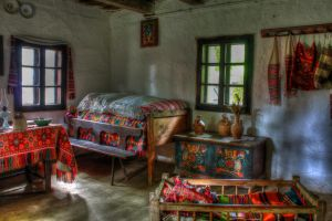Old Room, five by mariustipa