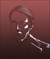 Hannibal Sketch by InvisibleRainArt