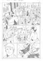Spider-man test Pg 01 Pencil Flavioquintino by FlavioQuintino