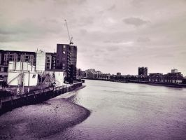 London urban environment by freye