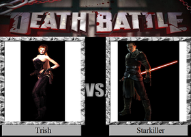 Trish vs. Starkiller by JasonPictures