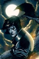 The Crow: Ghost of Sorrow (Original by Icicle0) by ChrisLeroux