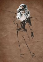 Black Canary 01byC100D17 by C100D17