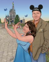 Magic Kingdom Entry With Clip Art  _COLORS_ by carol-colors