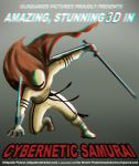 Cybernetic Samurai 3d (anaglyph) by Oldquaker