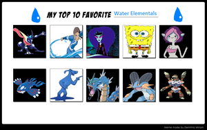 Favourite Water Users by TheDarkBrawler90