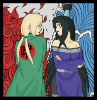 Godaime vs Mizukage by alice-johnsson