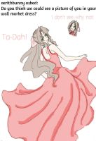 Aerith says Ta dah by IllusionedTime