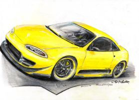 Eclipse 1999 Yellow.1 by HorcikDesigns