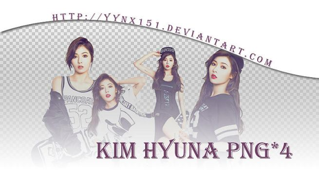 HyunA png pack #02 by yynx151