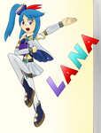 Lana- Hyrule Warriors by Silver-Reshiram