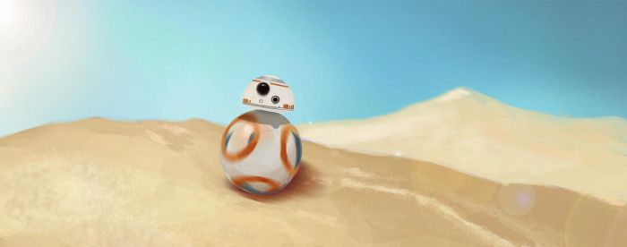 BB-8 Exploration 1/365 by XesiAMV