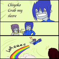 Chiyoko grab my... by SilverWingPrime