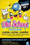 Old School Party Flyer by oblik50