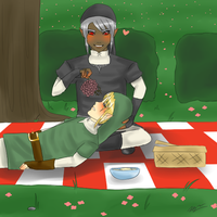 Picnic in the Park by LissyFishy