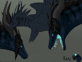 Kaiu Sketch Ref by Dragonsong93