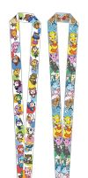 Eeveelution and Animal Crossing Lanyards by Rosewine
