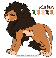 Kahn the Lion by JustifyMySanity