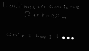 The cry of Lonliness by marfmarf02