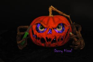 Kissel Studios logo pumpkin by kissel71