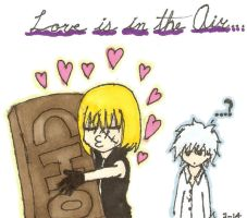 Mello REALLY loves chocolate by confuzed-anime-fan