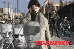 Metal Gear Solid 4 Tribute by n1c0z
