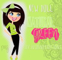 Doll Green Natural by Ivonnebm