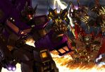 botcon 2008 box art by markerguru