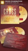 Cross Examination CD Artwork Template by loswl