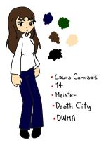 .::Ref - Laura Conrads::. by ChicaTH