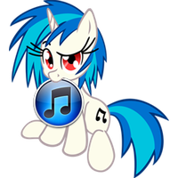 Custom Vinyl Scratch iTunes icon by Blues27Xx