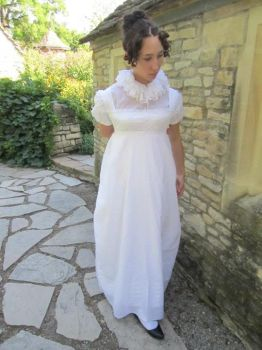 1812 Lace Insertion Gown... Again by Lady-Lovelace